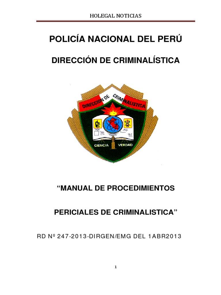 Manual Procedimientos Criminalisticos 2012 570945b2c36