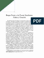 Borges y La Gauchesca x Rosi