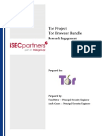 Tor Browser Bundle - IsEC Deliverable 1.3