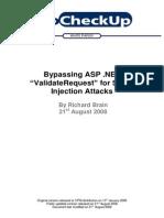 Bypassing Dot NET ValidateRequest