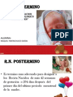 Recien Nacido Posmaduro