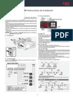 Instrucciones de Instalación. AKO-D14320-F0001