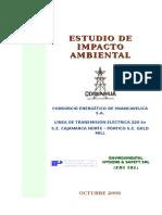 EIA Final LT. 220 Kv SE Cajamarca Norte - Pórtico SE Gold Mi