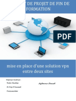 Mise en Place d'Une Solution VPN Entre Deux Sites