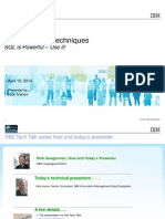 DB2 Tech Talk Recursive SQL