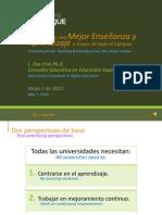 Dr. Fink - Promoviendo Mejor Enseñanza y Aprendizaje