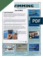 curriculum swimming 2014