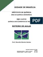 Apostila Catálise - Organometalicos