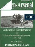 Waffen Arsenal - Sonderband S-78 - Deutsche Flak-Selbstfahrlafetten