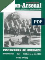 Waffen Arsenal - Sonderband S-58 - Panzersperren und Hindernisse
