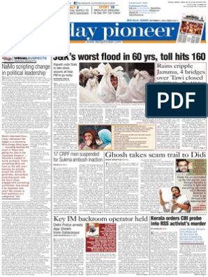 Epaper Delhi English Edition 07-09-2014 | Violence