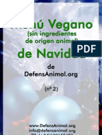 Menu Vegano Navidad 2