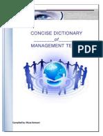 Management Glossary - Musa Kamawi