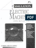 Electric Machinery Mathlab Simulation