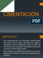 DIAPOSITIVAS CIMENTACION
