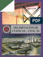Civil 3d Delimiotacion de Una Cuenca