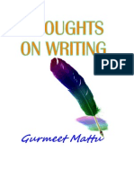 Thoughts on Writing
