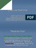 Case Law Slideshow