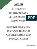 Lagu Planet
