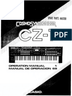 Casio CZ-1 Owners Manual Synthesizer