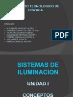 Unidad 1 Sistema de Iluminacion