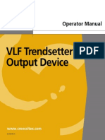 VLF Trendsetter User Manual