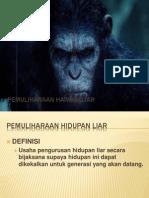 Pemuliharaan Haiwan Liar