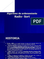 Ordenamiento Radix Sort