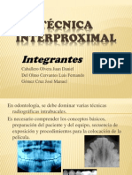 Tecnica Interproximal (1)