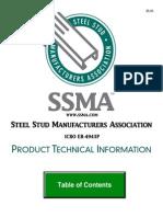Steel Stud Catalog