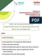 Instrumentos de Recojo y Procesamiento de Información 5