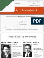 Bioquímica _ Prêmio Nobel (Renato)