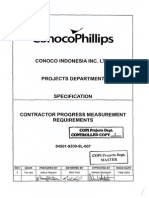 84501-9200-9L-007 Rev-2 Contractor Progress Measurement Requirements