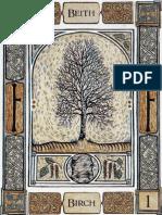 Celtic Tree Oracle Tarot