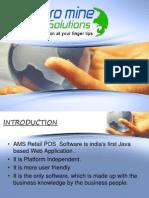 Auromine Retail POS_PPT.