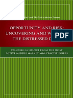 Best Practices Distressed Investing Opportunity