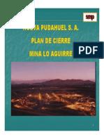 Daniel Galleguillos Plan de Cierre Mina lo Aguirre