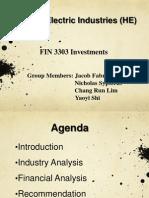 Investments HEpresentation