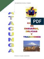 Inventario de Atracciones Turísticas de Latacunga