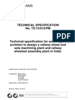 Technical Specification TZ 13 012 PM