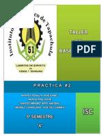 Practica#2; Consultas de La Base de Datos Constructora