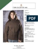 Universal yarn - pullover for men
