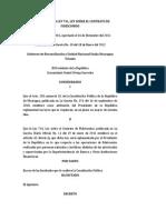Decreto No. 69-2011 - Reglamento a Ley No. 741 - Ley Sobre El Contrato de Fideicomiso