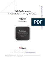 High-performance Internet Connectivity Solution - W5300 V1.0,0 Eng
