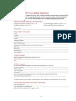INT Claim Form General
