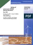 Advanced Modeling of Renewable Energy Market Dynamics_ May 2006