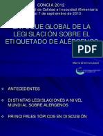 Concia.( Legislacion Alergenos Maria Cristina Lopez) PDF