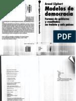 Modelos de Democracia (Lijphart)