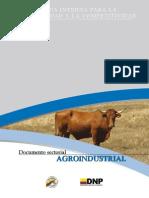 Agenda Interna Sector Agroindustrial DNP