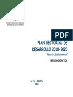 PSD 2010-2020 Versión Didáctica